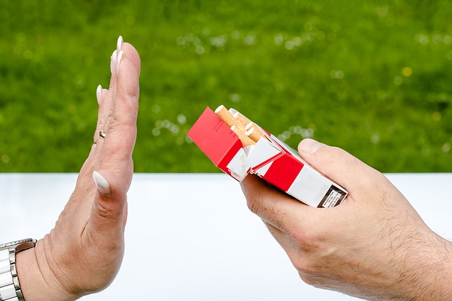 STOP SMOKING HYPNOTHERAPY LONDON & HERTFORDSHIRE saying no